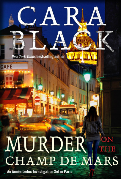 Cover of Murder on the Champ de Mars by Cara Black