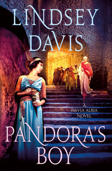 Cover of Pandora's Boy by Lindsey Davis