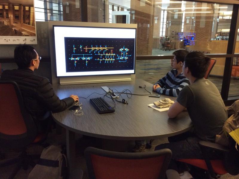 New Large Screen Displays