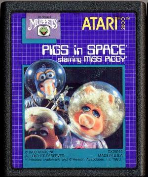 Pigs in Space, Atari cover