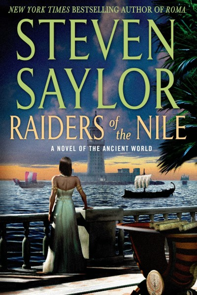 Cover of Raiders of the Nile by Steven Saylor