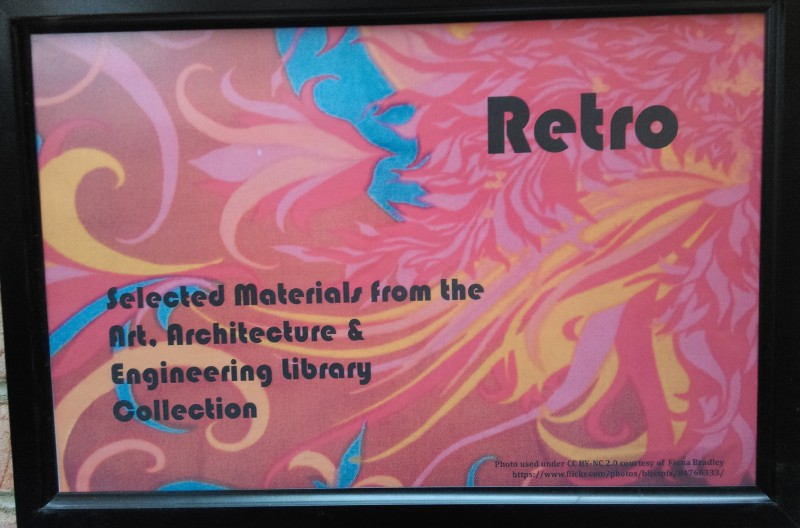 Retro display sign