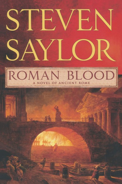 Cover of Roman Blood by Steven Saylor
