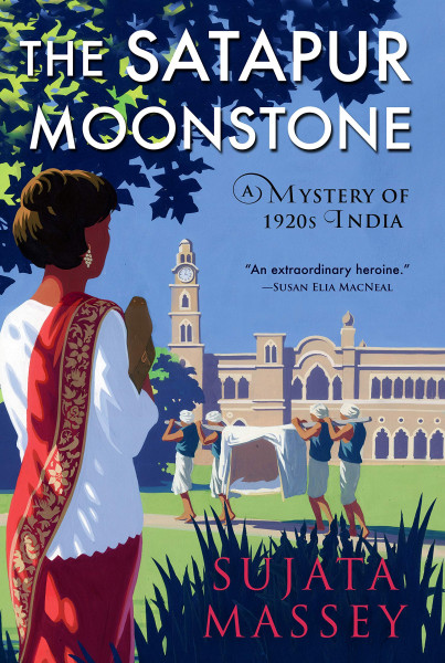 Cover of The Satapur Moonstone by Sujata Massey