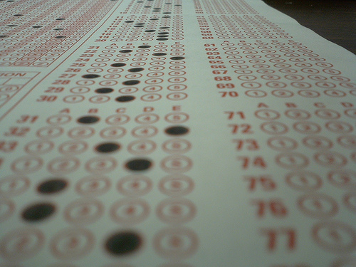 Scantron photo