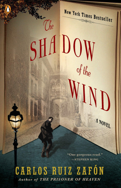 Cover of The Shadow of the Wind by Carlos Ruiz Zafón