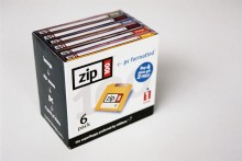 Box of Zip disks