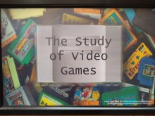 The Study of Video Games sign