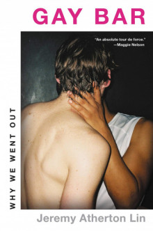 Book cover featuring a color photograph of two men embracing, their backs turned from the camera.