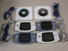 4-player Game Boy Advance equipment