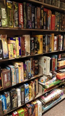 Board games collection
