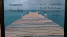 Summer vacation display