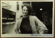 Photograph of Anne Waldman