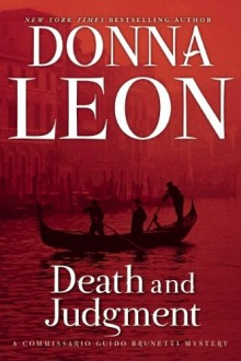 Cover of Death and Judgment by Donna Leon