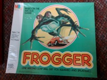 Frogger board game cover