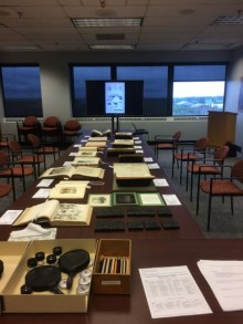 Teaching Space at the Special Collections Library, Hatcher 806