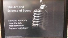 The Art and Science of Sound sign