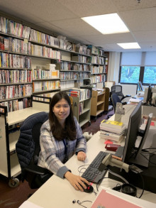 Photograph of Yujin Choi, Korea Foundation intern