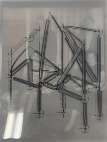 Image of Cuban family structure translated to steel
