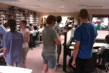 Incoming freshmen at CVGA