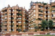 digital image of Las Cocheras apartments, Barcelona