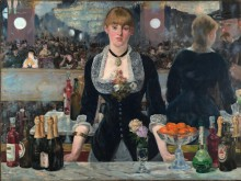 Digital reproduction of Manet painting