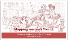 Image of a couple in a horse drawn carriage. Mapping Austen's World: Movement and Journeys in the 19th Century. January 19, 2018