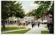 Corner of State and North University, 1908