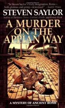 Cover of A Murder on the Appian Way by Steven Saylor