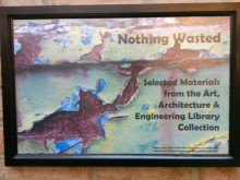 Book display sign