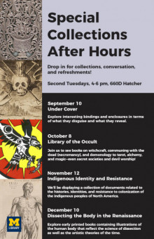 poster for the open house series