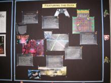 Ouya bulletin board display