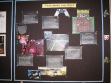 Ouya bulletin board display