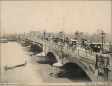 España Bridge across the River Pásig : Manila, P. I. ( Puente de España sobre el río Pásig, Manila) 1896-1900, University of Michigan Library