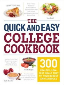 Cover image of The Quick and Easy College Cookbook
