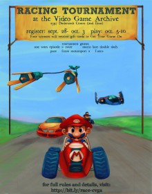 Racing poster