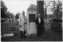 Goldman's grave