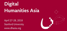 Poster for DHAsia 2018