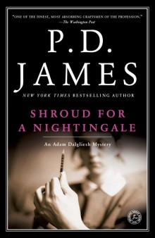 Cover of Shroud for a Nightingale by P.D. James