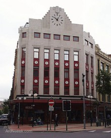 Digital image of Sinclairs Department Store, Belfast