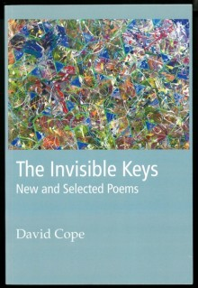 Pale blue cover of The Invisible Keys, with a multicolored abstract artwork covering most of the upper half.