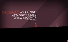 Thomas Was Alone ad