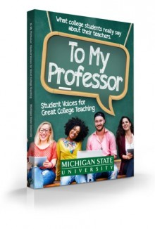 To My Professor Book Cover