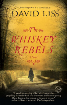Cover of The Whiskey Rebels by David Liss