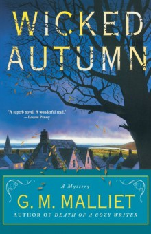 Cover of Wicked Autumn by G. M. Malliet