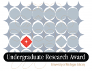 Gray abstract image with text reading Undergraduate Research Award, University of Michigan Library