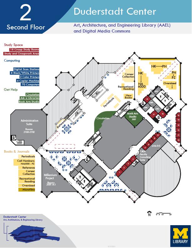 Duderstadt Center Floor Map