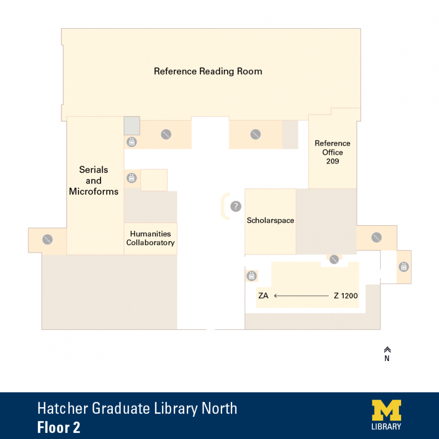 Hatcher Graduate Library North 2