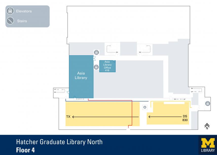 Hatcher Graduate Library North Floor 4