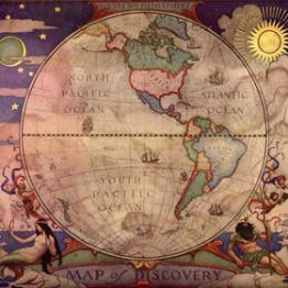 image of a map of the world
